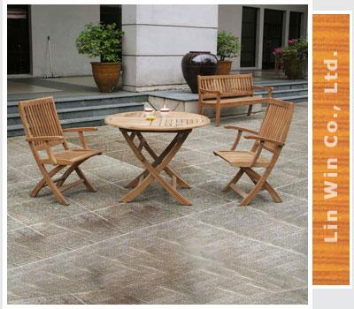 lin win company teak garden furniture